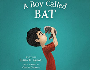 A Boy Called Bat Book Cover